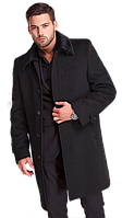 Мужское стильное пальто Дипломат