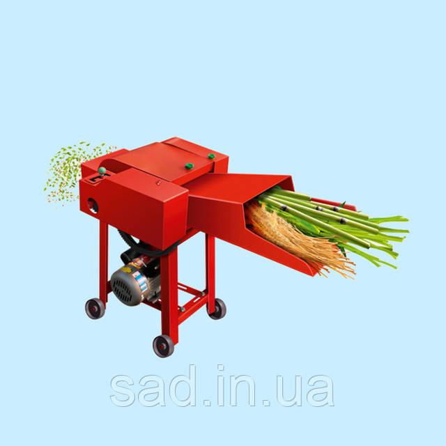 Рассчитан на переработку стебельчатого корма и сена, соломы