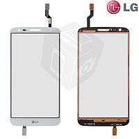 Touchscreen (сенсорный экран) для LG Optimus G2 LS980/VS980, оригинал (белый)
