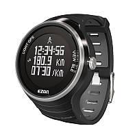 Спортивные умные часы EZON G1; водозащита 5 АТМ; GPS для спорта; синхронизация с iOS 7.0, android 4.3 или выше