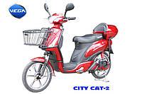 Электровелосипед VEGA (SKYMOTO)  CITY CAT-2 новая модификация!