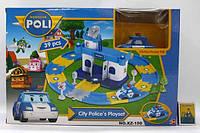 Робокар-Поли 660-195-196 паркинг- гараж для машин