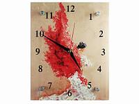 Часы настенные Девушка Японский мотив
