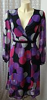 Платье женское легкое весна лето миди бренд  Per Una р.42 5344