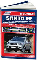 Книга Hyundai Santa Fe 2 с 2009-2012 Каталог деталей, руководство по эксплуатации и ремонту автомобиля