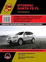 Книга Hyundai Santa Fe 2 с 2010 Руководство по ремонту, инструкция по эксплуатации и техобслуживание авто