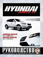 Книга Hyundai Santa Fe 2 с 2006 Руководство по ремонту, эксплуатации и техобслуживанию автомобиля