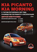 Книга Kia Picanto с 2003 Руководство по ремонту, инструкция по эксплуатации и техобслуживание