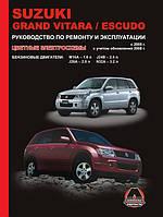 Книга Suzuki Grand Vitara 2005-2014 Руководство по эксплуатации, диагностике, техобслуживанию и ремонту