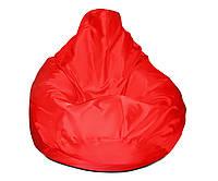 Кресло-мешок груша красная 120*90 см из ткани Оксфорд