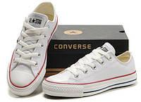 Мужские кеды Converse низкие белые ОРИГИНАЛ!
