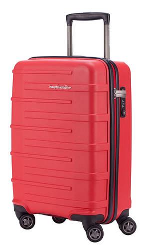 Малый яркий дорожный чемодан 37 л. HAUPTSTADTKOFFER ostkreuz mini red красный