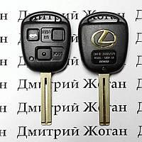 Авто ключ для LEXUS (Лексус)  3 - кнопки, 433 Mhz чип на выбор