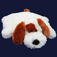 Мягкая игрушка декоративная подушка собачка, размер - 55 см. Популярная игрушка. Милая подушка. Код: КЕ462