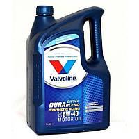 Синетическое моторное масло Valvoline Durablend 5w40 Diesel