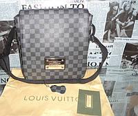 Сумка мужская  Louis Vuitton кожа, Франция