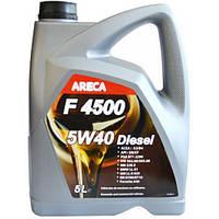 Синтетическое моторное масло Areca F4500 5w40 Diesel