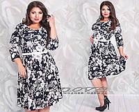 Платье Индия микро масло (размеры 48-54)