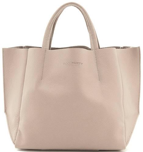 Элегантная сумка для женщин из кожи POOLPARTY SOHO poolparty-soho-beige