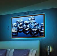 Картина с LED подсветкой Лед