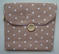 Кармашек тканевый для хранения в дамской сумочке