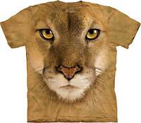 Футболка мужская The Mountain, размер XXL 54-56, 3D футболки (лев)