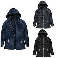 Женская куртка больших размеров на весну
