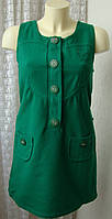 Платье женское теплое сарафан осень зима мини бренд 10 Feet р.42-44 5375