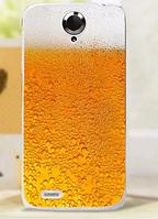 Пластиковый чехол Пиво для Lenovo S820