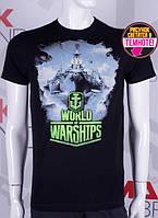 Мужские футболки WORLD of WARSHIPS корабли