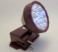 Фонарик светодиодный 162 (12 светодиодов,аккумулятор, зарядка в комплекте)