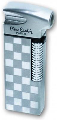Газовая современная зажигалка Pierre Cardin MF-21B-27 серебристый