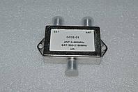 Коммутатор/сумматор спутниковой и эфирной антенны