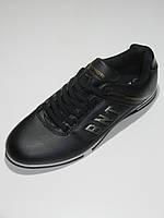 Мужские кроссовки черные кожзам Bonote размер 41,43,44,45,46