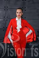 Костюм - кейп Jadore , женская одежда