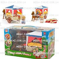 """Дом для животных """"Повозка с лошадкой"""" Happy Family"""