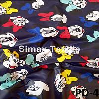 Плащевка Детская принтованная, плащёвка с рисунком, курточная ткань принт, ткань плащевая с рисунком