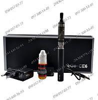 Сигарета Ego CE6 1100 mAh Black, EC-008, Для курильщиков, Электронная сигарета, сигары и трубки,аксессуары