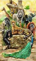 """Алмазная вышивка """"Животные Африки"""""""