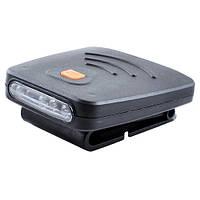 Фонарь аккумуляторный на козырек кепки DX-1805