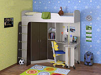 Детская кровать-чердак Дм-13