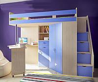 """Детская кровать-чердак """"Фанки Соло-37"""""""