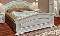 Кровать 2СП с мягким быльцем Николь (Світ Меблів)
