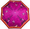Великолепный женский зонт компактный полуавтомат ZEST (ЗЕСТ), Z23626-2  Антиветер!