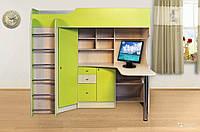 Кровать чердак (стол, шкаф, лестница, тумба)