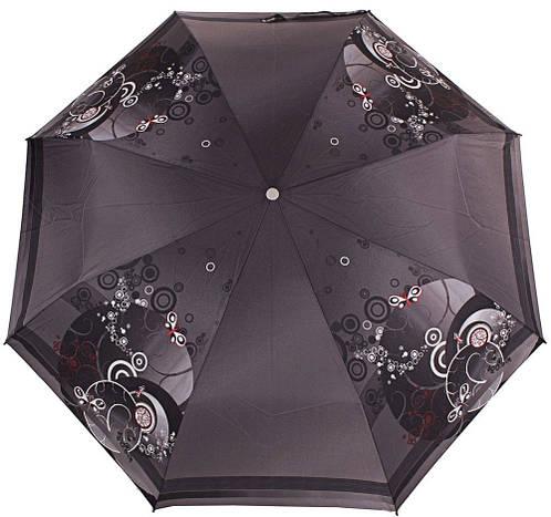 Великолепный женский зонт компактный полуавтомат ZEST (ЗЕСТ), Z23626-6  Антиветер!