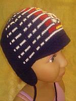 Польская вязаная шапка для малыша