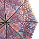 Великолепный женский зонт компактный полуавтомат ZEST (ЗЕСТ), Z23626-7  Антиветер!, фото 3
