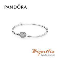 Pandora браслет 590727CZ серебро 925 кубический цирконий Пандора оригинал
