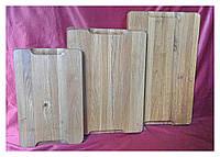 Доска деревянная разделочная торцевая 30х45 см дубовая